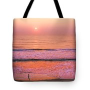Sunrise Run Tote Bag