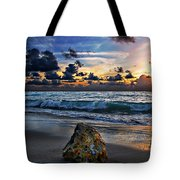 Sunrise Seascape Wisdom Beach Florida C3 Tote Bag