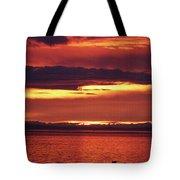 Sunrise Sekiu Washington Tote Bag