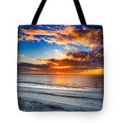 Sunrise Serenades The Beach Tote Bag