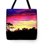 Sunrise Sunset Delight Or Warning Tote Bag