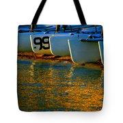 Sunrise / Sunset / Sailboats Tote Bag