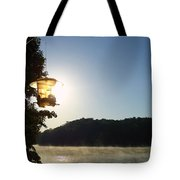 Sunrise Thru The Feeder Tote Bag