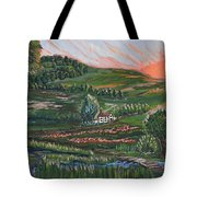 Sunrise Touch Tote Bag
