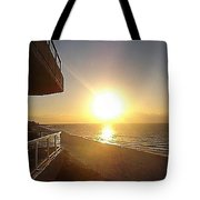 Sunrise View From The Balcony Tote Bag