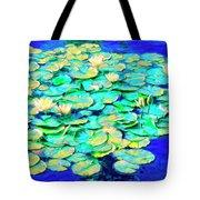 Sunrise Waterlilies Tote Bag