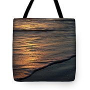 Sunrise Waves Tote Bag