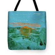 Sunrise With Gulls Tote Bag