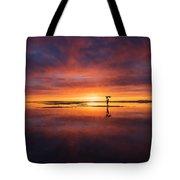 Sunrise Yoga Tote Bag