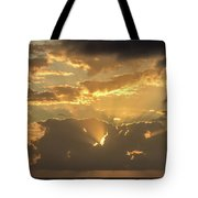 Sun's Rays Tote Bag by David Buhler