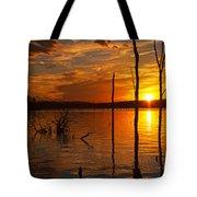 sunset @ Reservoir Tote Bag