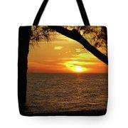 Sunset 2 Tote Bag by Megan Cohen