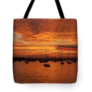 Sunset 4th Of July Tote Bag