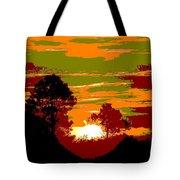 Sunset 6 Tote Bag