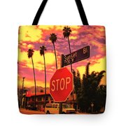 Sunset 7700w Tote Bag
