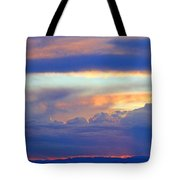 Sunset 8-19-15 Tote Bag