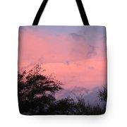 Sunset After Storm Tote Bag