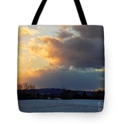 Sunset After Wild Day Tote Bag