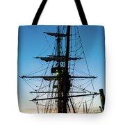 Sunset Ahoy Tote Bag