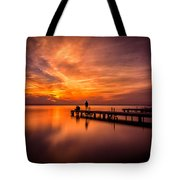 Sunset Albufera 2 Tote Bag