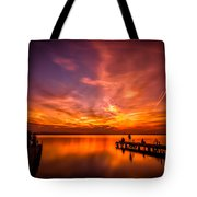 Sunset Albufera Tote Bag