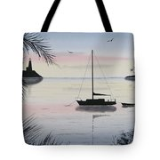 Sunset Anchorage 4 Tote Bag
