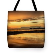 Sunset And Reflection Tote Bag