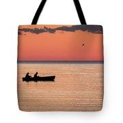 Sunset Anglers Tote Bag