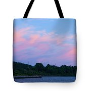 Sunset Aquidneck Island Tote Bag