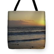 Sunset At Barry Tote Bag