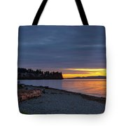 Sunset At Birch Bay State Park Tote Bag