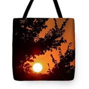 Sunset At Budapest Tote Bag