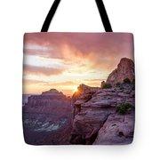 Sunset At Canyonlands Tote Bag