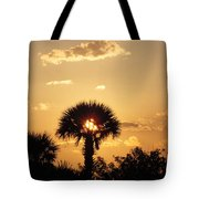 Sunset At Clearwater Beach Tote Bag