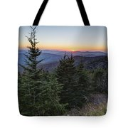 Sunset At Clingmans Dome Tote Bag