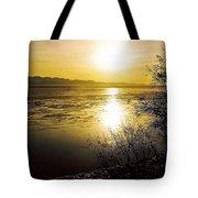 Sunset At Cook Inlet - Alaska Tote Bag