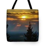 Sunset At Cypress #3 Tote Bag