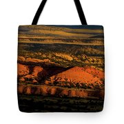 Sunset At Donkey Flats Tote Bag