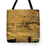 Sunset At Gallo Cliff Shelter Tote Bag