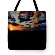 Sunset At Glassy Tote Bag