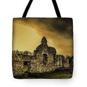 Sunset At Grace Dieu Tote Bag