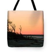 Sunset At James Island Tote Bag
