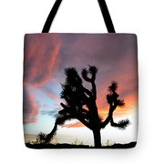 Sunset At Joshua Tree 2 Tote Bag