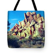 Sunset At Joshua Tree Tote Bag