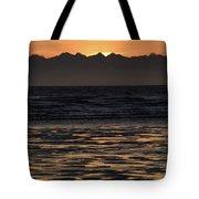Sunset At Kenai Beach Tote Bag