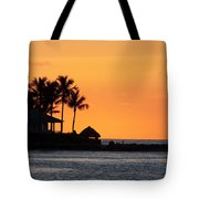 Sunset At Key West Tote Bag