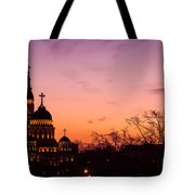 Sunset At Kharkov  Ukraine Tote Bag