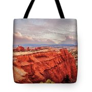 Sunset At Kodachrome Basin State Park Panorama Tote Bag