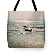 Sunset At Krabi Tote Bag