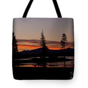 Sunset At Lake Almanor 02 Tote Bag